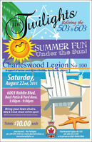 Charleswood Legion Fundraiser Aug.22!
