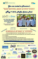 Keep Moving Keep Active Family Event at Maffeo Sutton Park