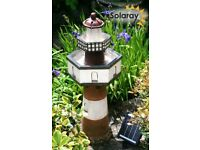 Belle Tout Lighthouse Two Tier Solar Cascade Water Feature