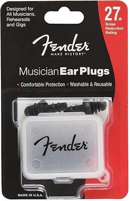 Fender Musician Ear Plugs 27db pair