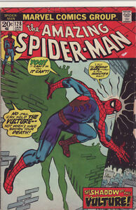 AMAZING SPIDERMAN COMIC BOOK 128 VULTURE