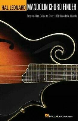 Mandolin Chord Finder - Mandolin Chord Finder : Easy-to-use Guide to over 1,000 Mandolin Chords, Pape...