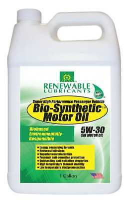Engine Oil  Bio Synthetic  5W 30  1 Gal