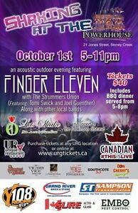 Oct 1st. Finger eleven @ the powerhouse