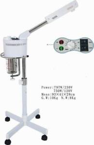 Brand new facial steamer and magnifying lamp