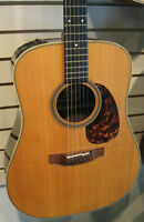 Takamine JAPAN TF360S BG Bluegrass Acoustic Electric Guitar