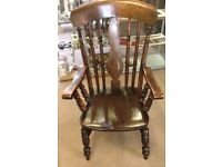 Early 19th Century Oak Farm house chair
