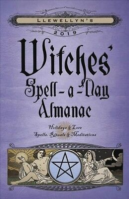 Llewellyn's 2019 Witches' Spell-a-Day Almanac, Paperback by Llewellyn Worldwi... - Witches Spell Book