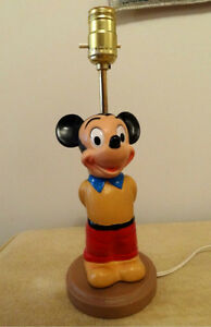 1971 Mickey Mouse lamp