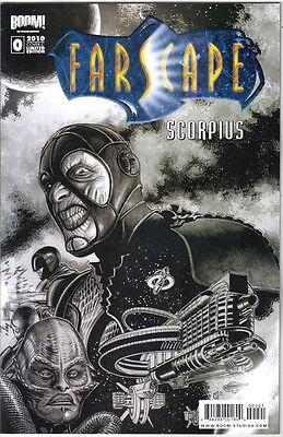 Farscape Scorpius Comic Book #0 Limited Edition Cover C, Boom! 2010 NEW UNREAD