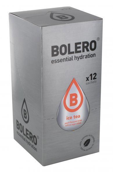 Bolero Drink - Ice Tea Pfirsich  Instant Getränkepulver - 12 Beutel für 18-60 L