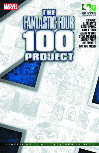 THE FANTASTIC FOUR 100 PROJECT (softcover)