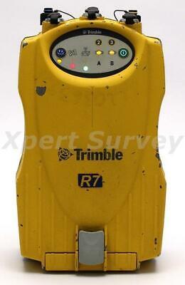Trimble R7 Gps Glonass 450 - 470 Mhz L2cs Rtk Radio Modem Receiver 50157-46