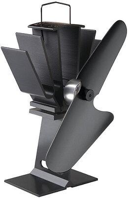Caframo Ecofan 800 Original All Black Wood Stove Fan