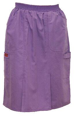 (Scrub Cargo Pockets Skirt - 197)