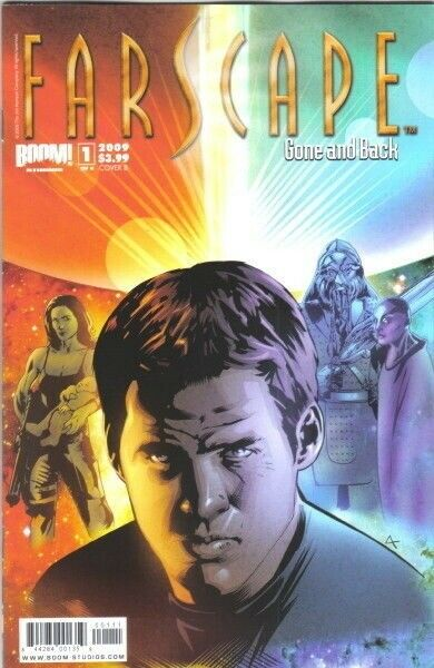 Farscape Gone and Back Comic #1 Cover B 2009 NEW NEAR MINT
