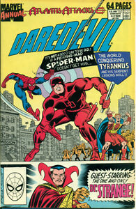Daredevil Man Without Fear Comic Book Annuals