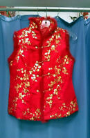 * * Brocade Chinese Blouses * *