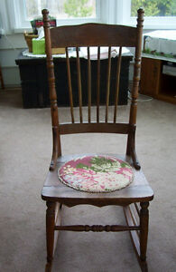 Antique Sewing or Nursing Rocking Chair