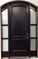 SOLID WOOD FRONT DOOR SYSTEM IN STOCK SALE