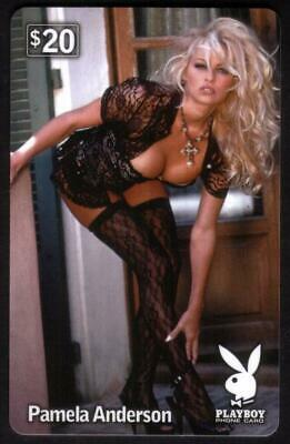 $20. Playboy: Pamela Anderson Standing - Black Lace - Playboy Outfits