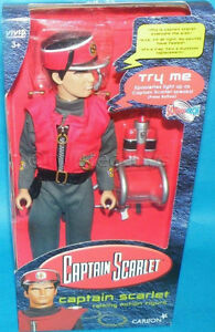 "Captain Scarlett Vintage 12"" Action Figure"