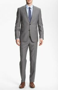 HUGO BOSS 'James/Sharp' Trim Fit Wool Suit Size 38R