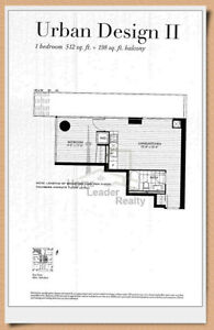 1Bed Unit at U Condo Phase 1 to Assign - March 21 Occupancy
