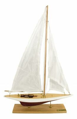 Segelyacht Segelboot Sgeleschiff Schiff Yacht Segel 60 cm maritim Schiffsmodell