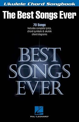 Best Songs Ever Sheet Music Ukulele Chord Songbook Ukulele Book NEW 000117050