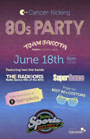 Cancer Kicking 80's Party with SuperSauce and the Radia8tors