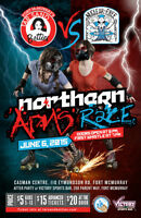 Northern Arms Race - Tar Sand Betties vs. Nuclear Free Roller De