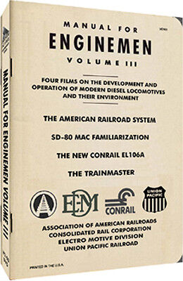Manual For Enginemen Volume III ( Featuring Diesels) On DVD - Only One On eBay!