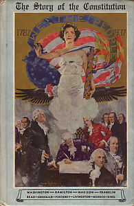 THE UNITED STATES CONSTITUTION 1937 Illustrated Edition by Bloom