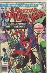 AMAZING SPIDERMAN COMIC BOOK 161  NIGHTCRAWLER
