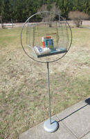Older Bird Cage w/Stand and Supplies - Reduced Again