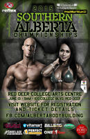 2 Tickets to Southern AB Bodybuilding Evening Show