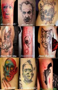 Pro Tattoo artist $60 hour / Tatouage Professionnel $60 heure