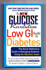 SMALL PAPER BACK LOW GI GUIDE TO DIABETES QUICK REFERENCE BOOK