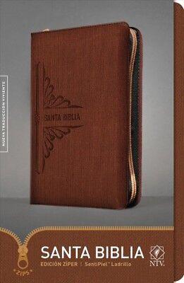 Usado, Santa Biblia / Holy Bible : Nueva Traduccion Viviente, SentiPiel Ladrillo, Zi... segunda mano  Embacar hacia Argentina