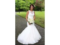 Lillian west 6315 designer wedding dress size 6/8