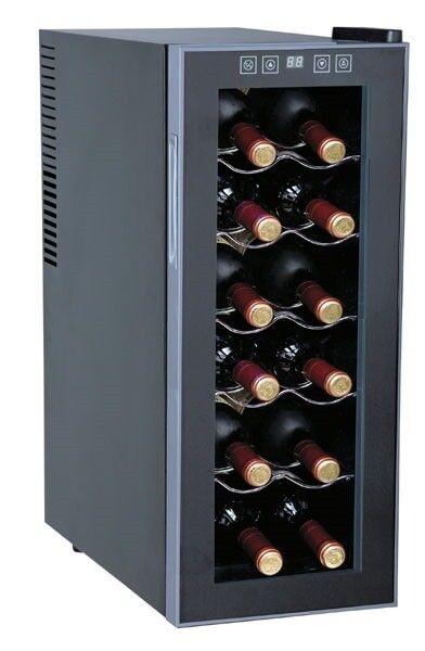 Sunpentown WC-1271 12-Bottles Slim Wine Cooler
