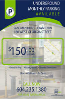 Affordable Monthly Parking - Downtown Vancouver