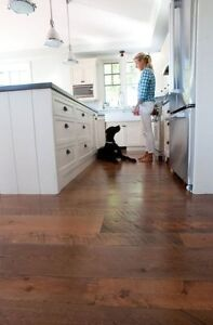Rustic Wide Plank Barn Board Flooring
