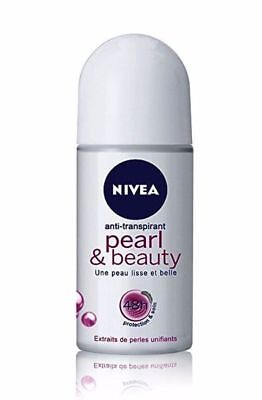 Nivea Pearl & Beauty 48 Hours Anti-Perspirant Deodorant Roll On - 50ml