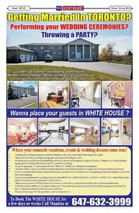 White House Canada-13 Bedrooms-5 Living-40+ dinning-Mini Party H