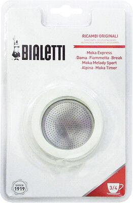 Gasket + Original Filter Bialetti Tz. 3  4
