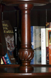 New Price. Solid mahogany 2 tier table. Carved feet Kingston Kingston Area image 9
