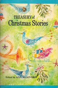 TREASURY OF CHRISTMAS STORIES - Ann McGovern Hcv / DJ