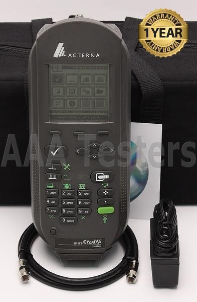 Wavetek Acterna JDSU MS-1200D Signal CATV Meter MS1200